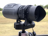 SOLO RT Monocular, Tripod Adapter 3d printed Prototype shown