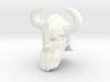 dwarf head 3 with helmet 3d printed