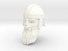 dwarf head 4 with helmet 3d printed