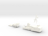 Thetis, Superstructure (1:200, RC) 3d printed