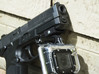 Compact Picatinny Rail Mount for Go Pro 3d printed