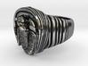 trilobite ring 3d printed