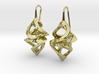 Trianon Twins, Earrings 3d printed
