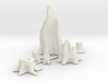 O Scale Stumps 3d printed This is a render not a picture