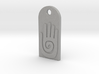 Tag Native American Hand size normal 3d printed