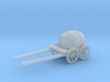 S Scale Barrel Wagon 3d printed This is a render not a picture