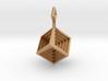 Hypercube_Pendant 3d printed