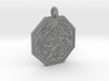 Cat Celtic Octogon Pendant 3d printed
