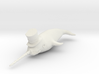 Top Hat Narwhal 3d printed