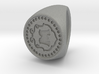 Custom Signet ring 83 3d printed