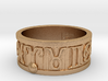Zodiac Sign Ring Aries / 21.5mm 3d printed