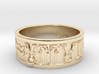 Zodiac Sign Ring Pisces / 23mm 3d printed