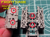 SPACE 2999 TRANSPORTER 1/144 3d printed Assembling Instructions.