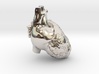 very tiny detail heart 3d printed