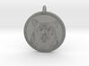 Black Bear Portait Animal Totem Pendant 3d printed