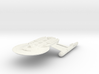 """Discovery time line USS Baker 4.7"""" 3d printed"""