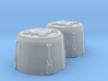 YT1300 BANDAY 1/144 LC MCQUARRIE DOCKING RINGS 3d printed