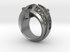 Naughty and Nice Ring - Size 11 1/2 (21.08 mm) 3d printed