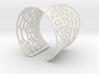 Voronoi bracelet #2 (MEDIUM) 3d printed