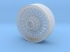 British style wire wheel 3d printed