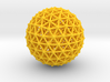 Geodesic • Two-layer Sphere 3d printed
