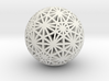Geodesic Great Circles 3d printed