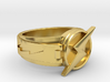 wally west flash ring size12 21.5mm 3d printed