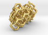 Gyroid Lattice Earrings 3d printed