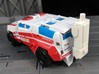 TF CW First Aid Car Cannon Adapter 3d printed Mounted onto the Back of First AId