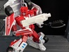TF CW First Aid Car Cannon Adapter 3d printed Used as a hand weapon in robot mode