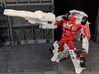 TF CW First Aid Car Cannon Adapter 3d printed Combine with Cannon in robot mode
