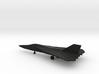 General Dynamics F-111A Aardvark (swept wings) 3d printed