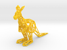 Red Kangaroo (male adult) 3d printed