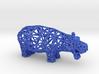 Hippopotamus (adult) 3d printed