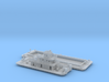 Pusher Boat And Barge 3 3d printed Barge and Pusher boat Z scale
