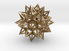 "Stellated Truncated Icosahedron 2.2"" 3d printed"