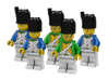 5 x Bearskin 3d printed French Grenadiers and Dragoons  (Render: Example usage, Decals by Mosana and Woody64)