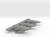 Leaping Humpback 1_600 scale 3d printed This is a render not a picture