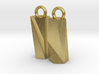 Scutoid Earrings - Mathematical Jewelry 3d printed