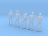 1/35 male zombie set001-02 3d printed