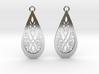 Elven earrings 3d printed