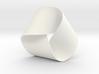 Folded Mobius Triplex 3d printed
