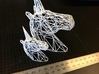 Wire Unicorn Head Statue: 6 Inch 3d printed