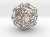 Drilled Perforated Dodecahedron Flower 3d printed
