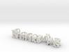 3dWordFlip: BathroomPass/DOUGLAS  3d printed