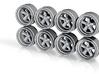 RForm Fuchs 9-0 Hot Wheels Rims 3d printed