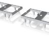 GGw 103 Drehgestell Innenrahmen 1:45 (1 Paar) 3d printed