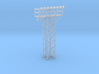 Light Tower Top With Single Light Assembly 1-87 HO 3d printed