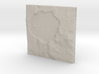 3'' Crater Lake, Oregon, USA, Sandstone 3d printed