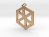 Medium Pandora's Box Pendant v2 3d printed